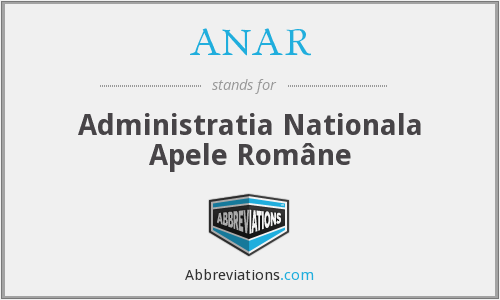 What does ANAR stand for?
