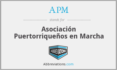 What does marcha stand for?