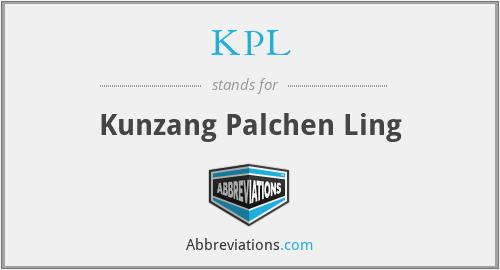 KPL - Kunzang Palchen Ling
