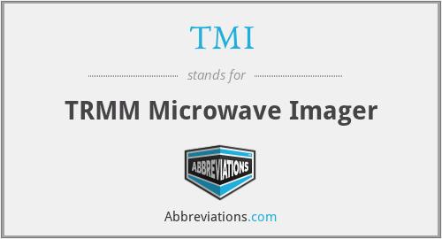TMI - TRMM Microwave Imager