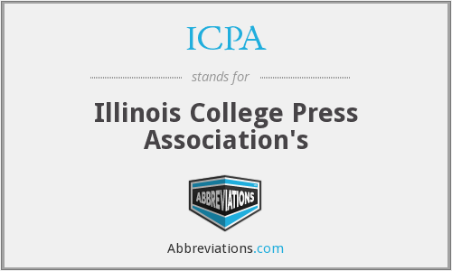 ICPA - Illinois College Press Association's