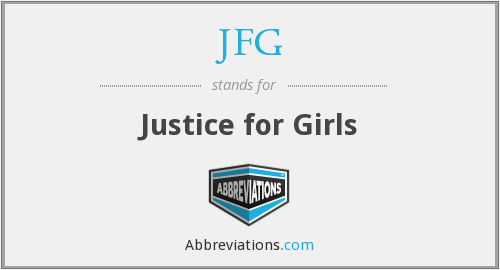 JFG - Justice for Girls