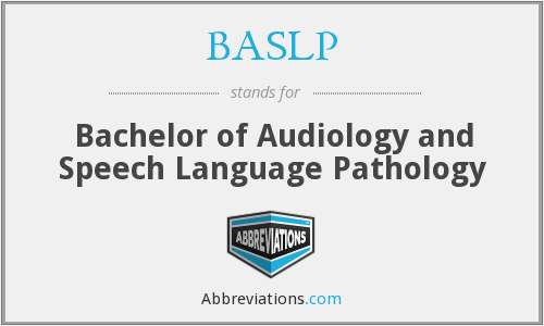 What does BASLP stand for?
