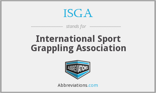 ISGA - International Sport Grappling Association