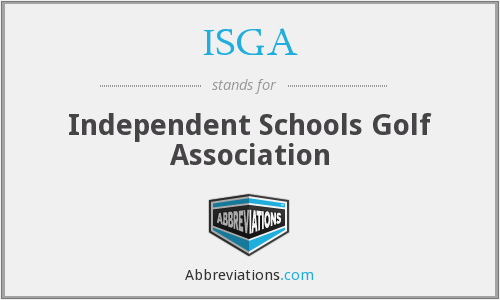 ISGA - Independent Schools Golf Association