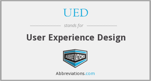 UED - User Experience Design
