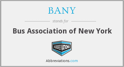 BANY - Bus Association of New York