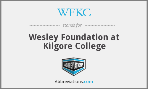 What does WFKC stand for?