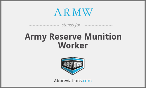 What does ARMW stand for?