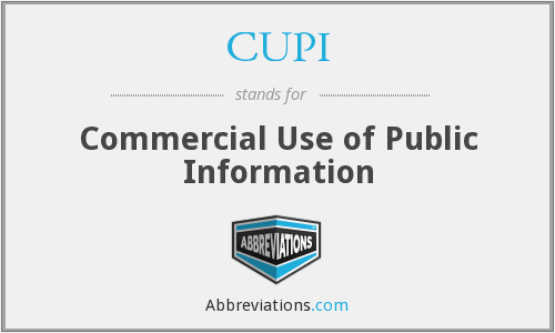 What does CUPI stand for?