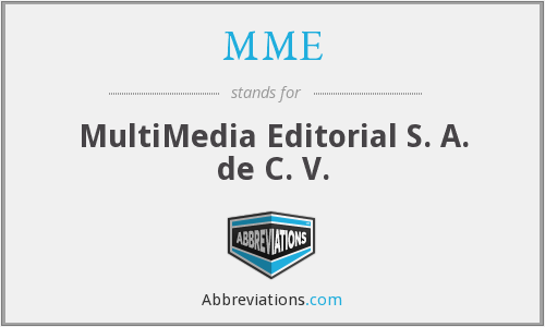 MME - MultiMedia Editorial S. A. de C. V.