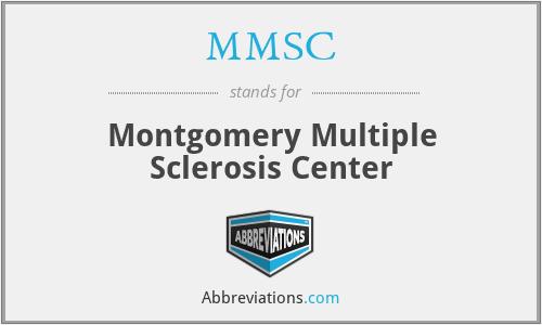 MMSC - Montgomery Multiple Sclerosis Center