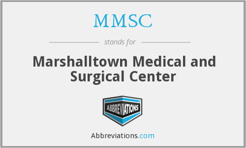 MMSC - Marshalltown Medical and Surgical Center