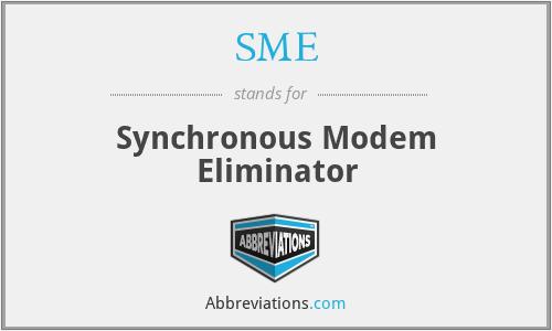 SME - Synchronous Modem Eliminator