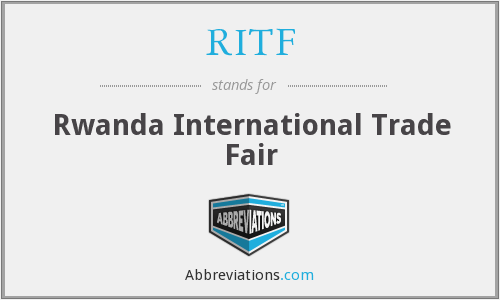 RITF - Rwanda International Trade Fair