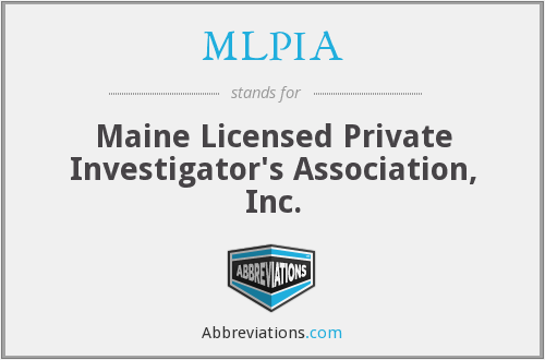 What does MLPIA stand for?