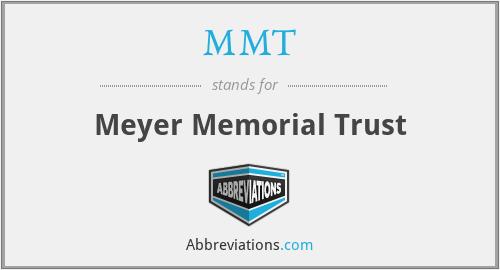 MMT - Meyer Memorial Trust