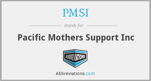 PMSI - Pacific Mothers Support Inc