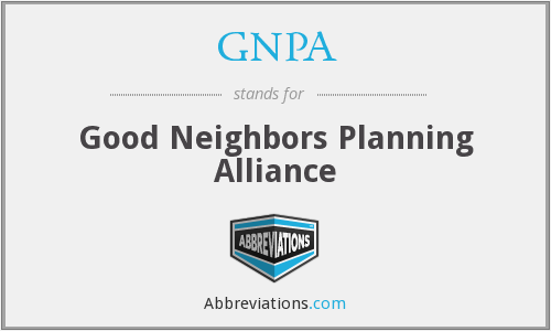 What does GNPA stand for?