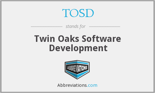 What does TOSD stand for?
