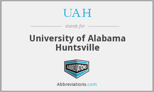 UAH - University of Alabama Huntsville