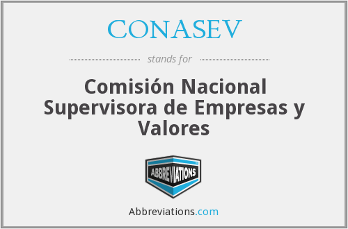 What does CONASEV stand for?