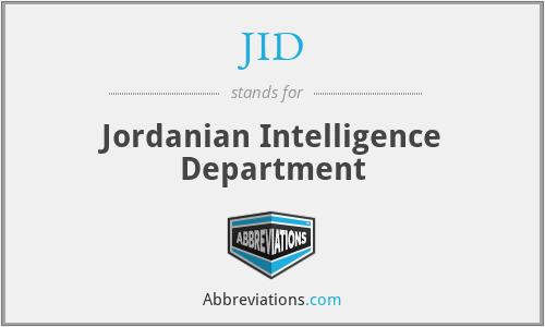 JID - Jordanian Intelligence Department