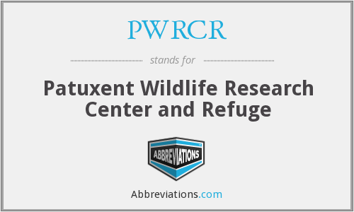 PWRCR - Patuxent Wildlife Research Center and Refuge
