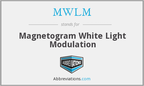 What does MWLM stand for?