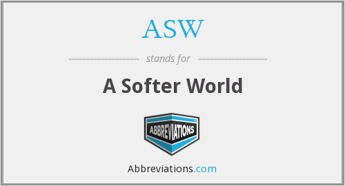 What does softer stand for?