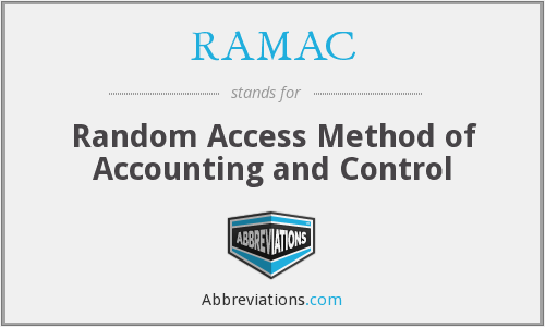 What does RAMAC stand for?