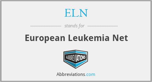 ELN - European Leukemia Net
