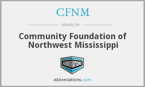 CFNM - Community Foundation of Northwest Mississippi