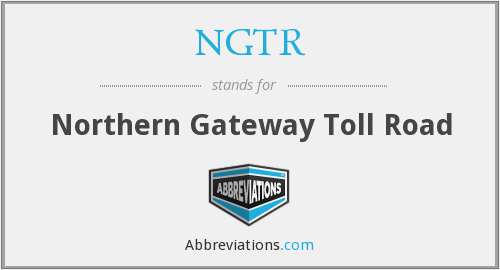 NGTR - Northern Gateway Toll Road
