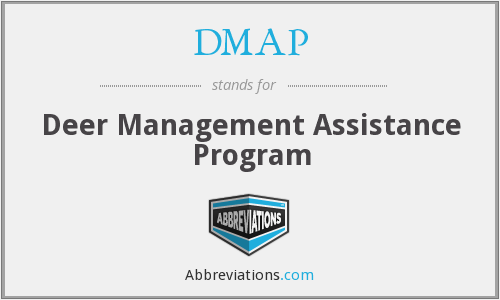 DMAP - Deer Management Assistance Program