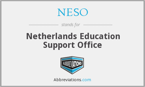 What does NESO stand for?