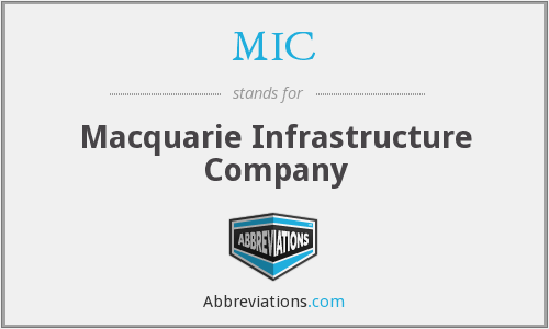 MIC - Macquarie Infrastructure Company