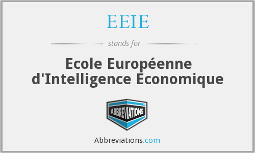 What does EEIE stand for?