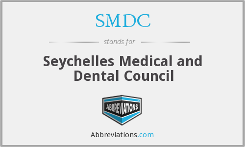 SMDC - Seychelles Medical and Dental Council