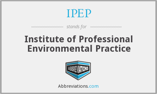 What does IPEP stand for?