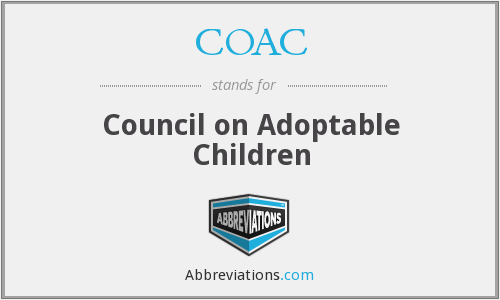 COAC - Council on Adoptable Children