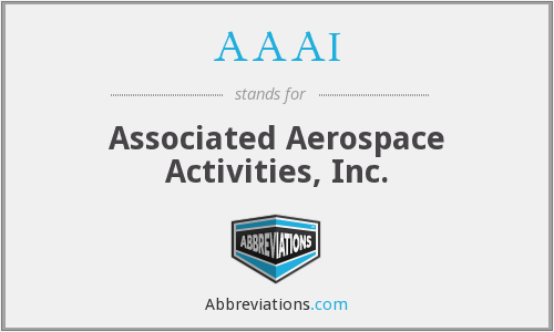 AAAI - Associated Aerospace Activities, Inc.