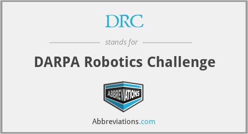 DRC - DARPA Robotics Challenge