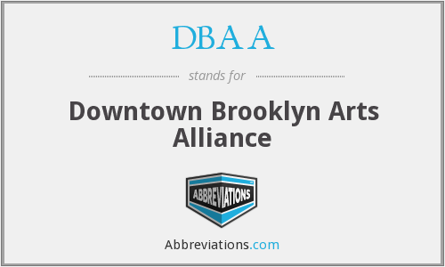 DBAA - Downtown Brooklyn Arts Alliance
