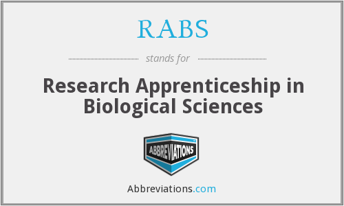 RABS - Research Apprenticeship in Biological Sciences