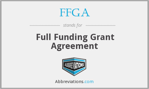 What does FFGA stand for?