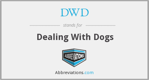 DWD - Dealing With Dogs