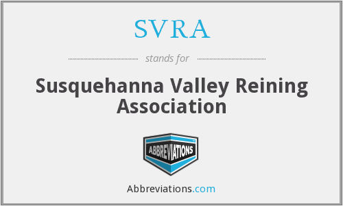 What does SVRA stand for?