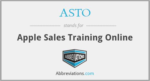 ASTO - Apple Sales Training Online