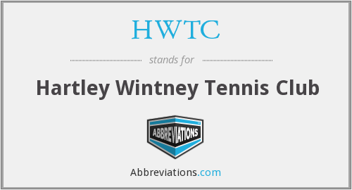 What does HWTC stand for?